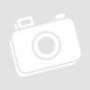 Kép 1/5 - Gurulós szekrényes asztal, lehajtható lappal, barna